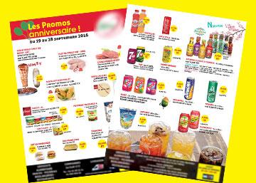 Impression et distribution de flyers promotionnels : mailing postal routage