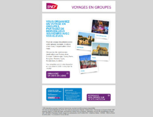 Actualités Octobre 2016 Newsletter SNCF Mailing