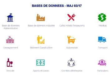 base de données professionnels particuliers et comité d'entreprise