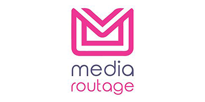 logo entreprise media routage courrier