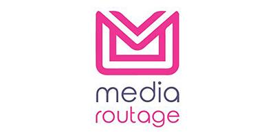 logo société media routage