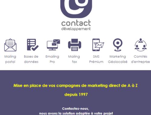 Rentrée 2017 Pensez à vos Campagnes Marketing Direct – Actualités Septembre 2017