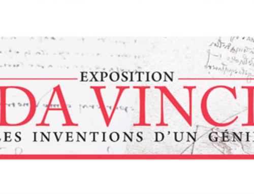Mailing postal  EXPOSITION DA VINCI  « LES INVENTIONS D'UN GENIE » – Actualités Novembre 2018