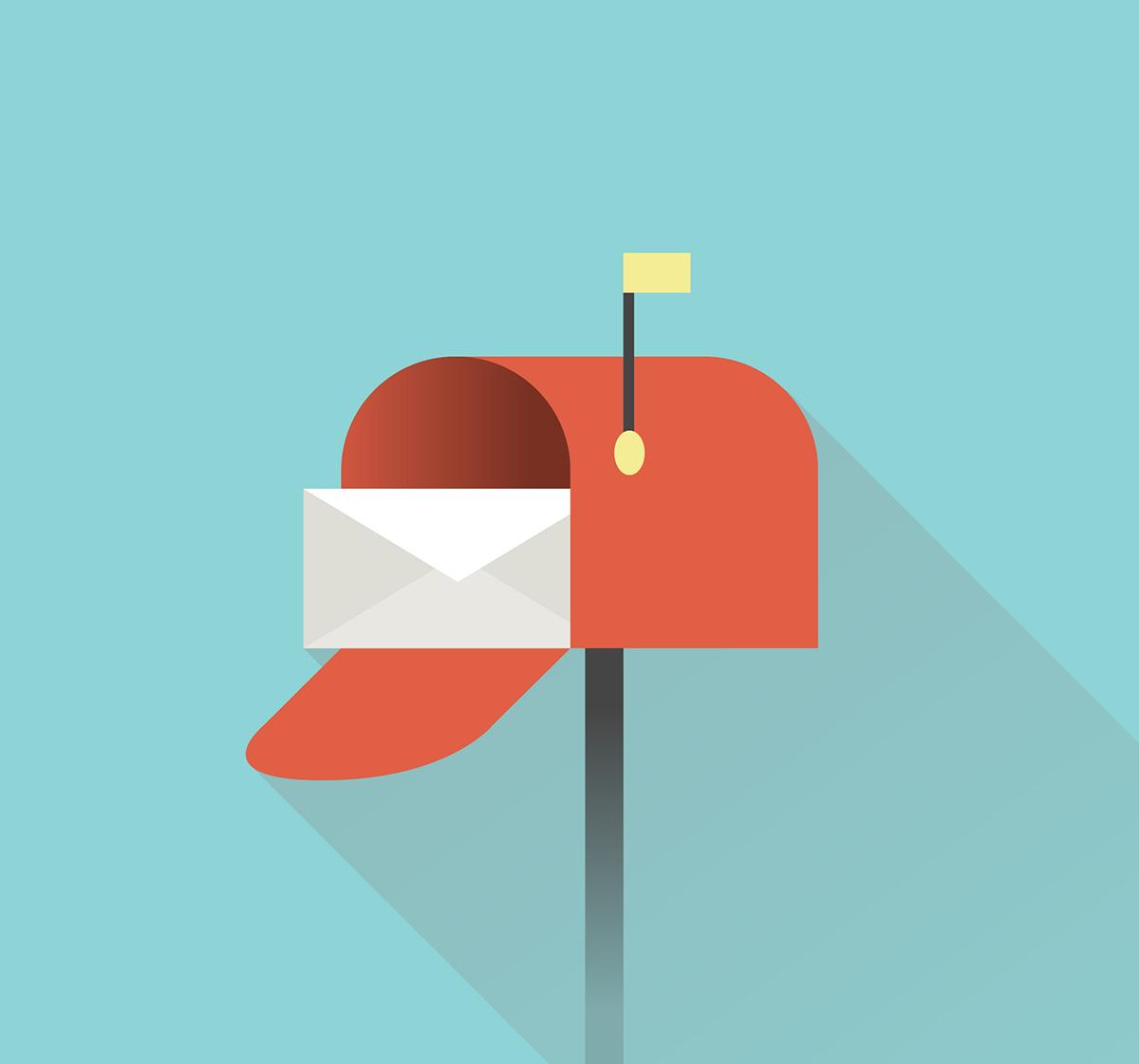 image mailing postal boîte aux lettres