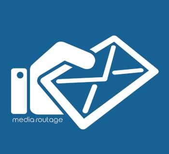 pictogramme carré enveloppe courrier