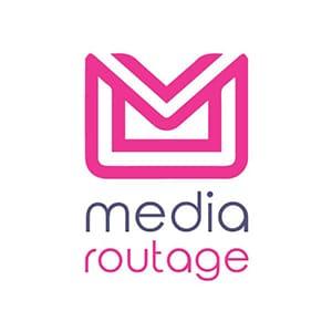 logo media routage entreprise envoi publipostage